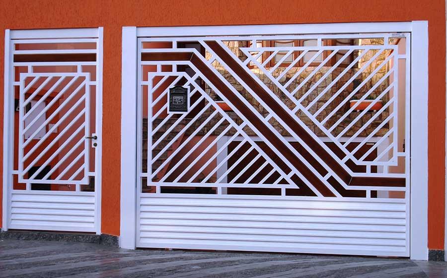 Portão Basculante Automático